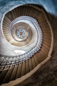 Escalier de la basilique Notre-Dame de Fourvière