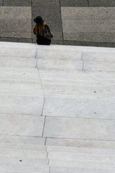 Marches de la Défense. Architectes : Otto von Spreckelsen, Andreu, Rice