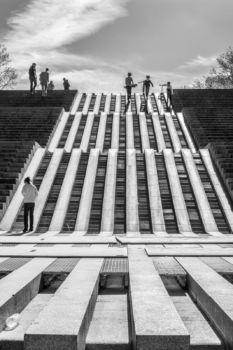 Parc de Bercy. Architectes : B.Huet, M.Ferrand, J-P.Feugas, B.Leroy / Paysagistes : I.Le Caisne, P.Raguin
