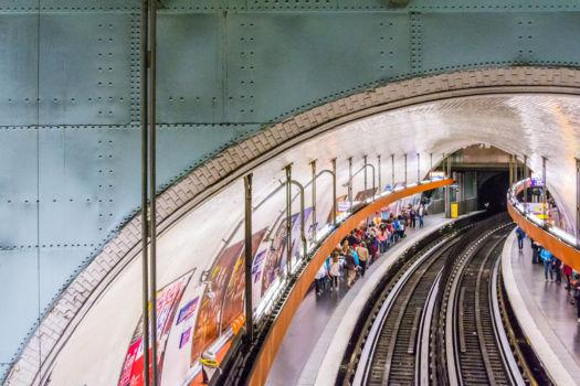 Station de métro St-Michel