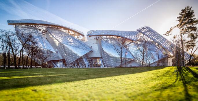 Fondation Louis Vuitton pour l'art contemporain 1. Architecte : Frank Gehry