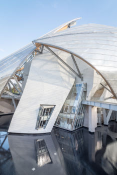 Fondation Louis Vuitton 3. Architecte : Frank Gehry