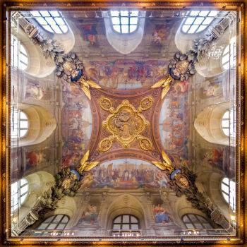 Plafond du musée du Louvre