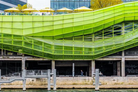 Cité de la mode et du design. Architectes : Jakob & MacFarlane