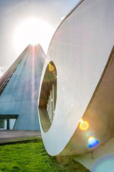 École Nationale Supérieure d'Architecture et de Paysage de Bordeaux à Talence. Architecte : Claude Ferret
