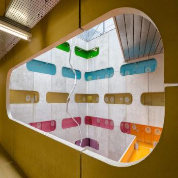 Université Pierre et Marie Curie, Jussieu. Architectes : Périphériques