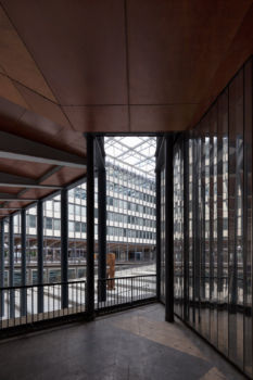 Université Pierre et Marie Curie / Campus de Jussieu. Architecte : Architecture Studio