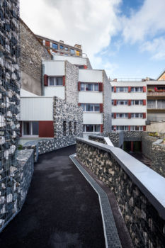 Foyer de travailleurs migrants. Architecte : Laurent Niget