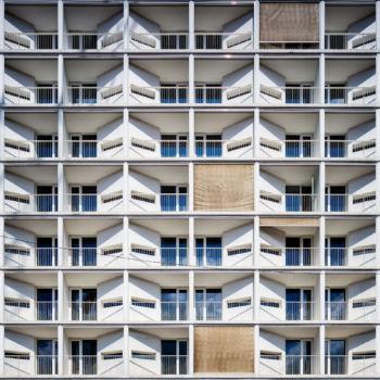 Home Business Residence sur l'Avenue de France à Paris. Architecte : SCAU
