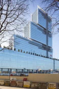 Nouveau Tribunal de Grande Instance (TGI). Architecte : Renzo Piano