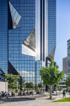 Tour Cristal. Architectes : Jean-Claude Le Bail et Julien Penven