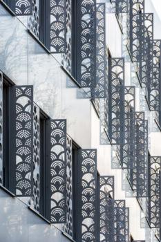 EHPAD et crèche, boulevard de Charonne. Architectes : TOA