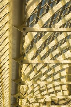 La canopée des Halles. Architectes : Patrick Berger et Jacques Anziutti