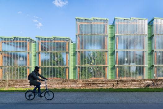 Jardin Botanique de Bordeaux. Architecte : JAP. Paysage : Catherine Mosbach. 2003