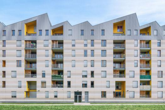 Îlot Armagnac. Architecte : ANMA (Agence Nicolas Michelin & Associés). 2012