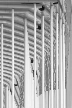 Nouveau stade de Bordeaux. Architectes : Herzog et de Meuron