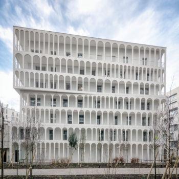 33 logements macrolot B5 à Boulogne-Billancourt. Architectes : Antonini + Darmon