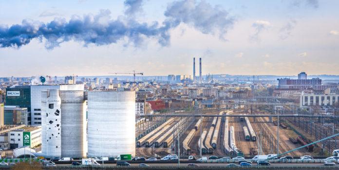 Silos 13 - centre de distribution de ciment. Paris 13e. Architectes : VIB architecture (Ballus + Vialet)