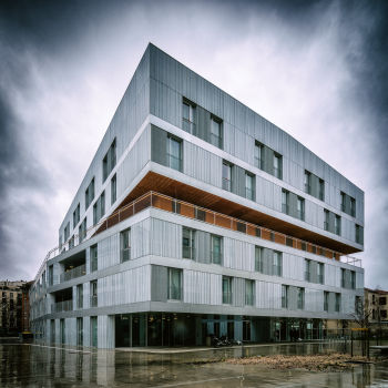 Résidence mixte Bon-Secours à Paris. Architectes : AZC (Atelier Zündel et Cristea)