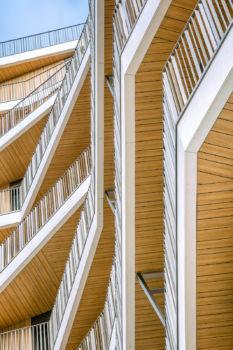 95 logements MLB4A à Boulogne-Billancourt. Architectes : Brenac et Gonzalez