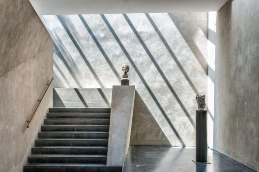 Musée Bourdelle à Paris. Architecte : Christian de Portzamparc. 1992