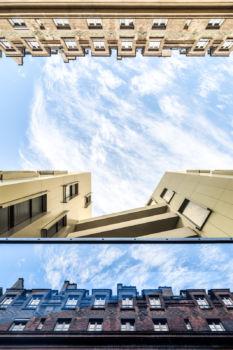 Passage de Melun à Paris. Architecte : Gaëtan Le Penhuel.