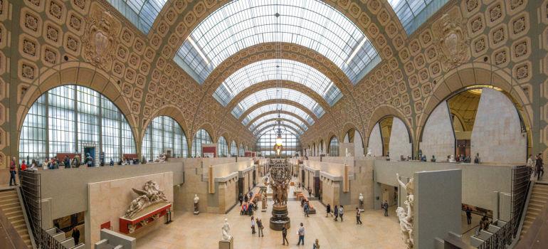 Musée d'Orsay à Paris. Architectes : Renaud Bardon, Pierre Colboc et Jean-Paul Philippon (ACT Architecture)