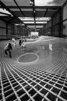 Pavillon du Brésil à l'Exposition Universelle de Milan 2015. Architectes : Studio Arthur Casas + Atelier Marko Brajovic