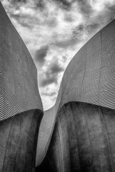 Pavillon des Émirats Arabes Unis à l'Exposition Universelle de Milan 2015. Architecte : Foster+Partners