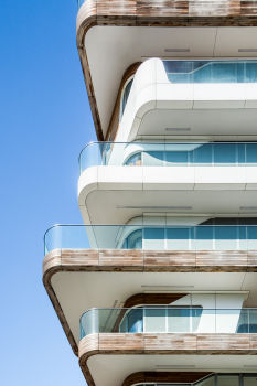 Milan City Life. Architecte : Zaha Hadid