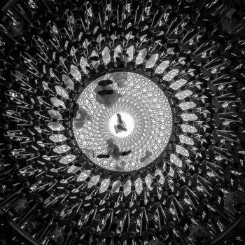 Pavillon du Royaume Uni à l'Exposition Universelle de Milan 2015. Artiste : Wolfgang Buttress