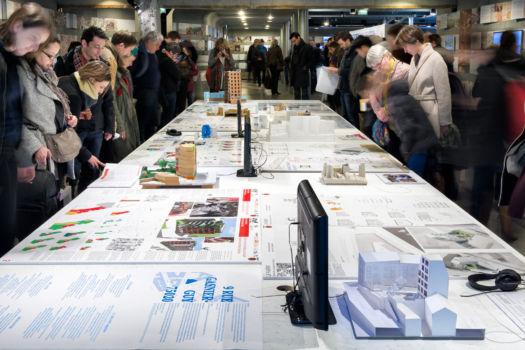 Pavillon de l'Arsenal - Exposition Habitat participatif - 2