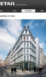 Detail - Babin Renaud - Logements rue de l'Orillon