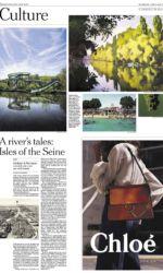 New York Times - Pavillon de l'Arsenal - Îles de la Seine