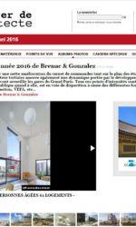 Le courrier de l'architecte - Brenac & Gonzalez - Yersin
