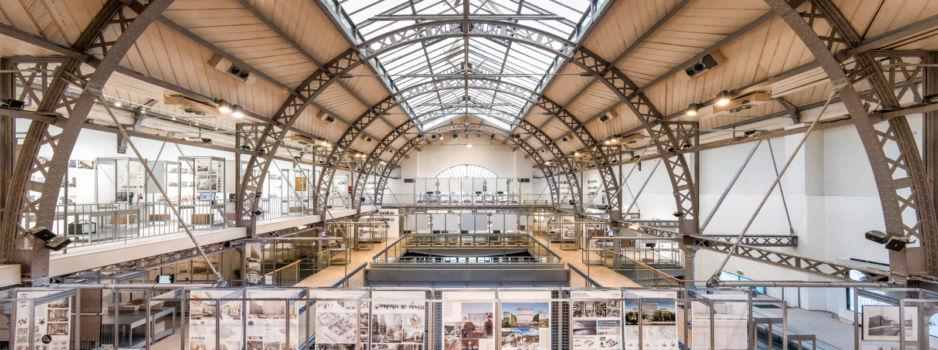 Pavillon de l'Arsenal - Exposition Réinventer Paris 1