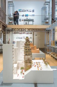 Pavillon de l'Arsenal - Exposition Réinventer Paris 13