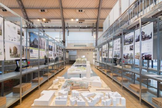 Pavillon de l'Arsenal - Exposition Réinventer Paris 17