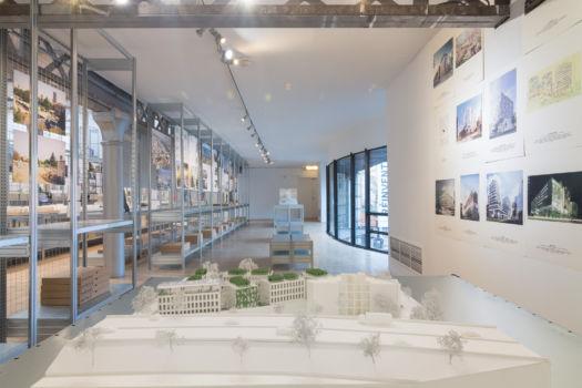 Pavillon de l'Arsenal - Exposition Réinventer Paris 19