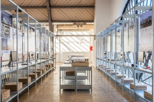 Pavillon de l'Arsenal - Exposition Réinventer Paris 2