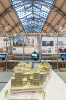 Pavillon de l'Arsenal - Exposition Réinventer Paris 21
