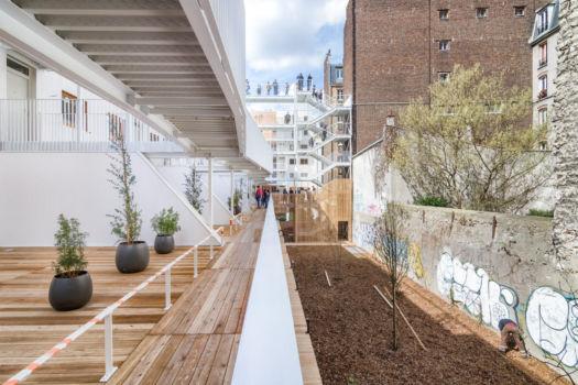 AAVP - Vincent Parreira - Immeuble Less à Paris - 17