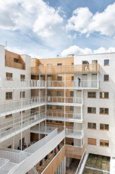 AAVP - Vincent Parreira - Immeuble Less à Paris - 18