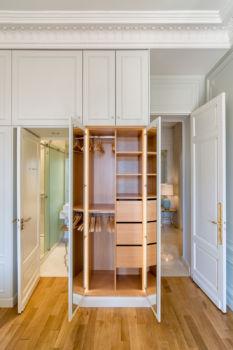 ARCREA Studio - Appartement Elisée Reclus - 18 - Chambre 1 (détail placard)