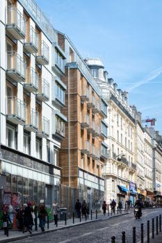 Alexandre Chemetoff - Rue du faubourg du temple à Paris - 1