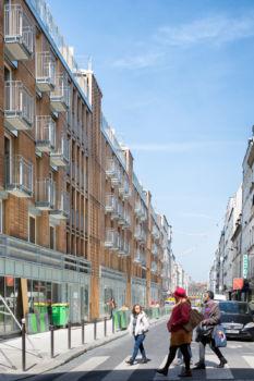 Alexandre Chemetoff - Rue du faubourg du temple à Paris - 2