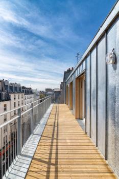 Alexandre Chemetoff - Rue du faubourg du temple à Paris - 13