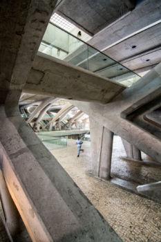 Gare de Lisbonne Oriente. Architecte : Santiago Calatrava. 1998