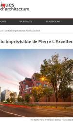 Chroniques d'architecture - Le studio imprévisible de Pierre L'Excellent