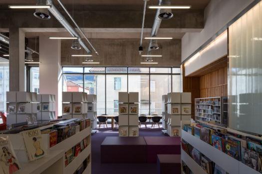 KcomK Architectes - Médiathèque de Millau - 6